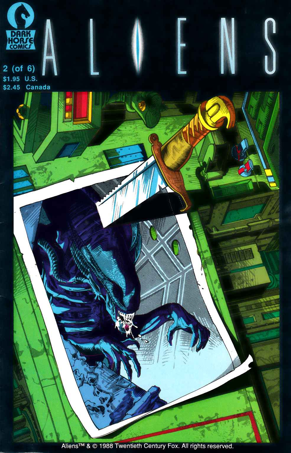 Aliens #2 Fine (6.0) [Dark Horse Comic]_THUMBNAIL