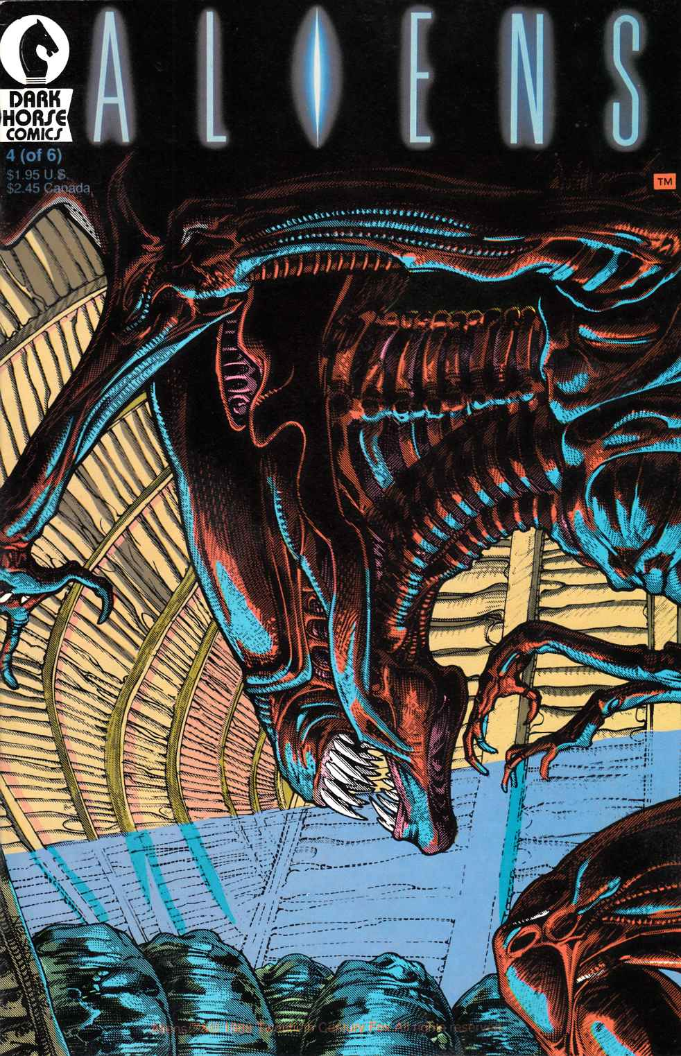 Aliens #4 Near Mint Minus (9.2) [Dark Horse Comic] THUMBNAIL