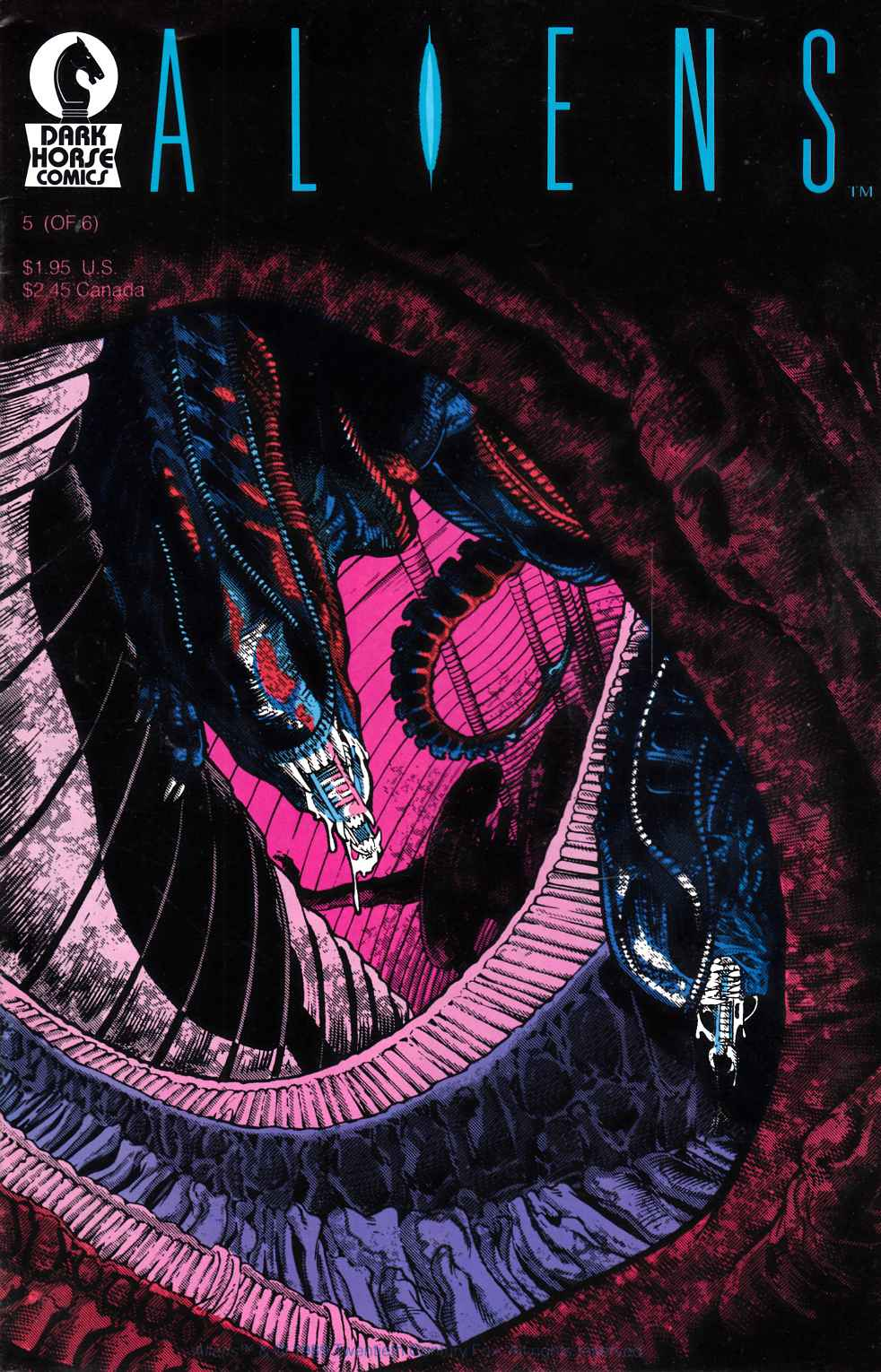 Aliens #5 Fine (6.0) [Dark Horse Comic] THUMBNAIL