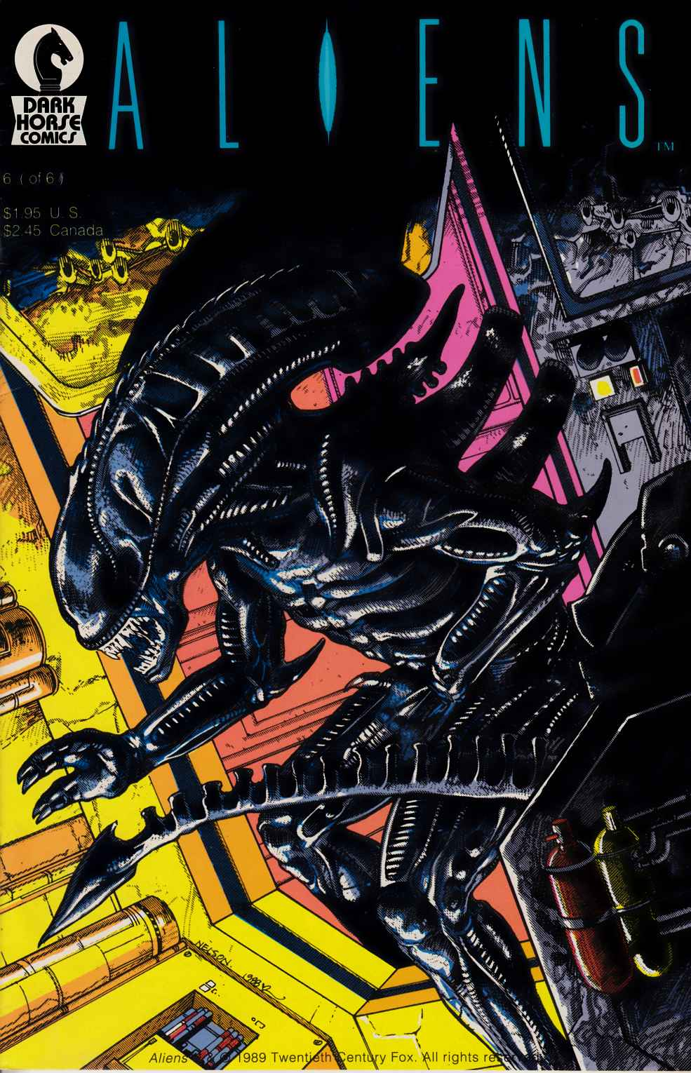 Aliens #6 Fine (6.0) [Dark Horse Comic] THUMBNAIL