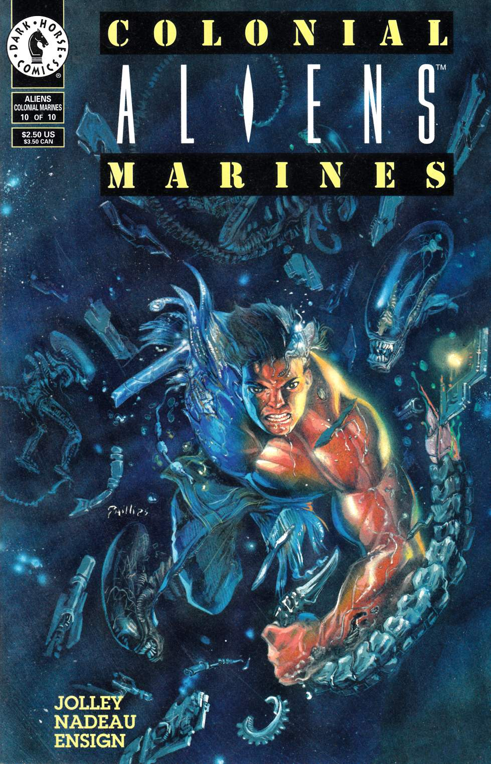 Aliens Colonial Marines #10 Very Fine (8.0) [Dark Horse Comic] THUMBNAIL