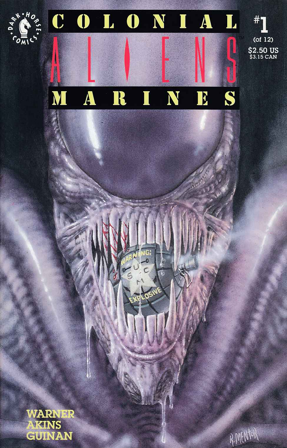 Aliens Colonial Marines #1 Near Mint Minus (9.2) [Dark Horse Comic] THUMBNAIL