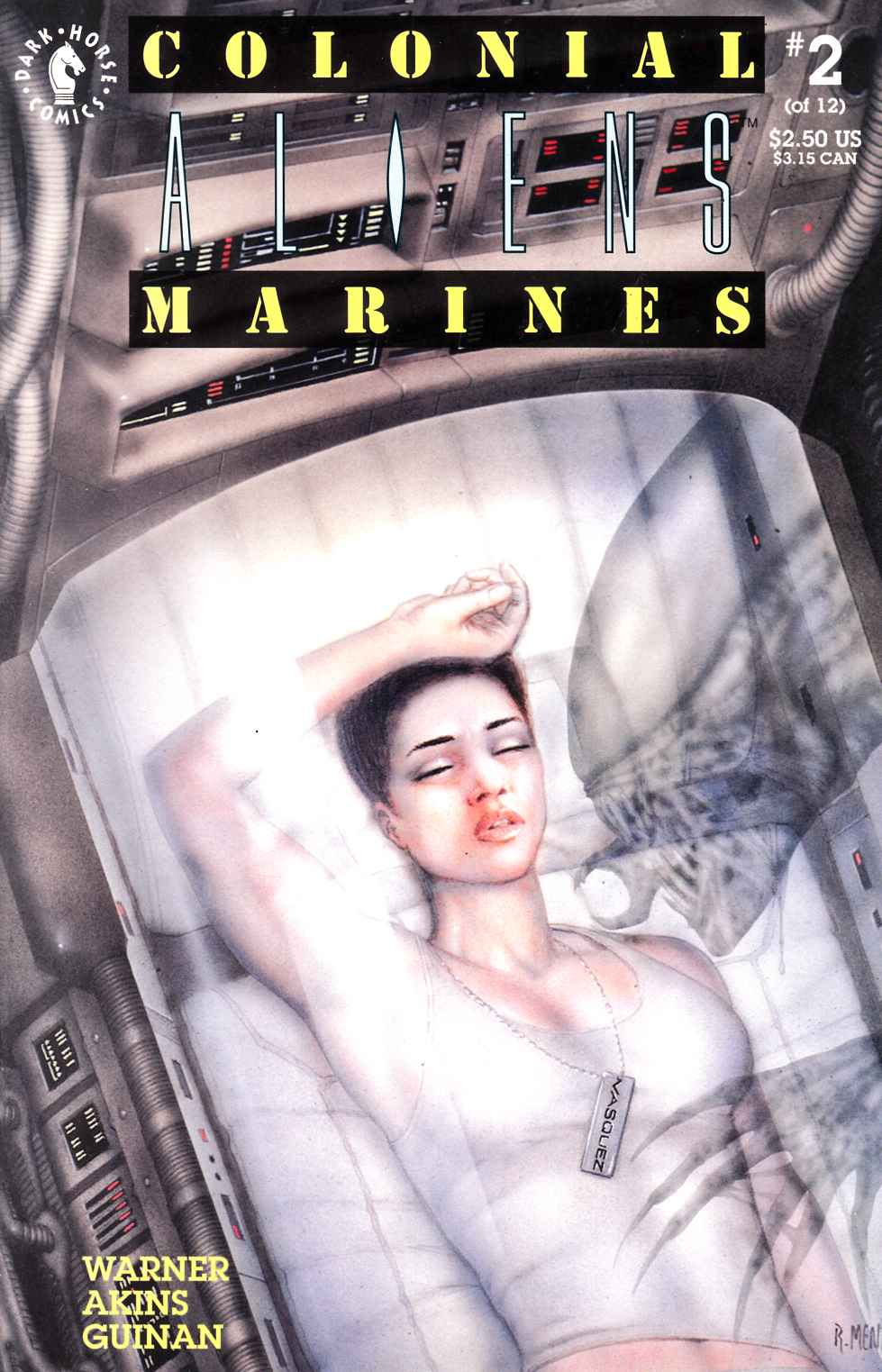 Aliens Colonial Marines #2 Near Mint Minus (9.2) [Dark Horse Comic] THUMBNAIL