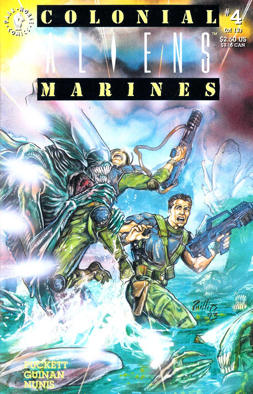 Aliens Colonial Marines #4 Near Mint Minus (9.2) [Dark Horse Comic] THUMBNAIL