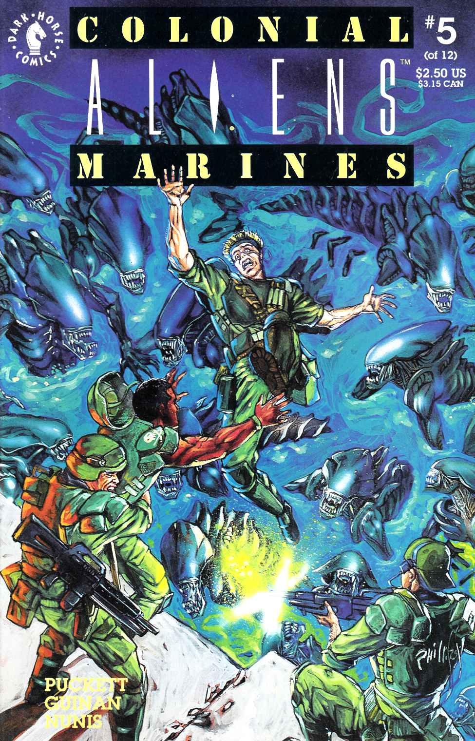 Aliens Colonial Marines #5 Near Mint Minus (9.2) [Dark Horse Comic] THUMBNAIL