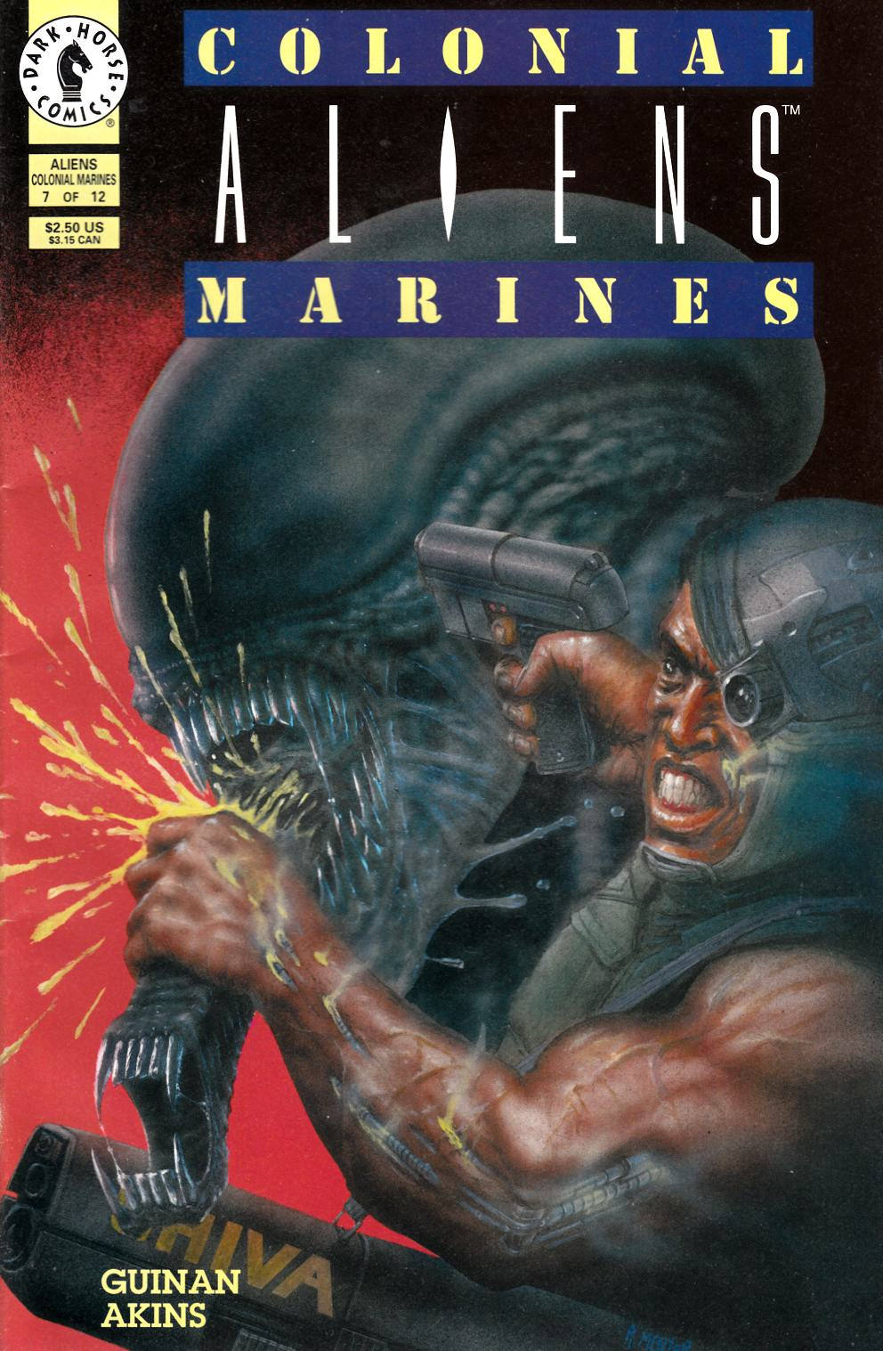 Aliens Colonial Marines #7 Very Fine (8.0) [Dark Horse Comic] THUMBNAIL