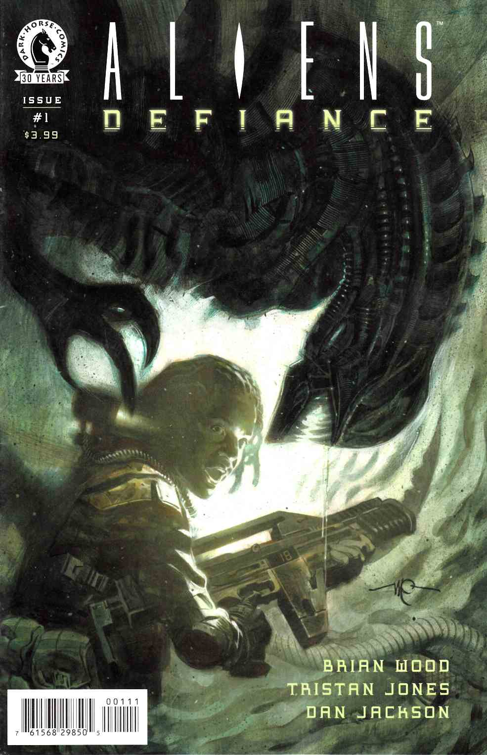 Aliens Defiance #1 [Dark Horse Comic]