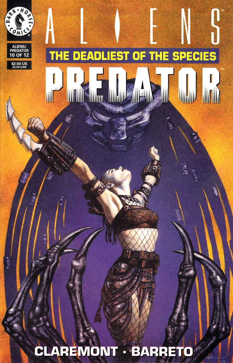 Aliens Predator the Deadliest of the Species #10 Very Fine (8.0) [Dark Horse Comic] THUMBNAIL