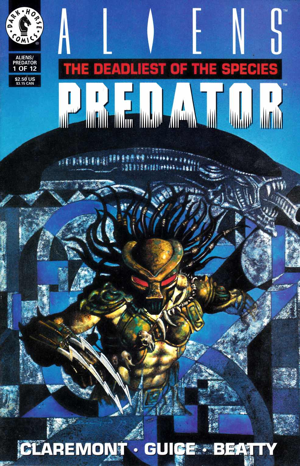 Aliens Predator the Deadliest of the Species #1 Fine (6.0) [Dark Horse Comic] THUMBNAIL