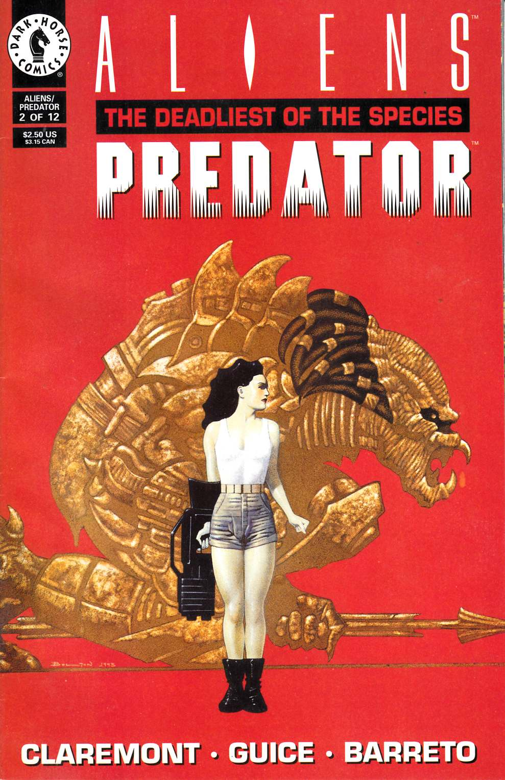 Aliens Predator the Deadliest of the Species #2 Fine (6.0) [Dark Horse Comic] THUMBNAIL