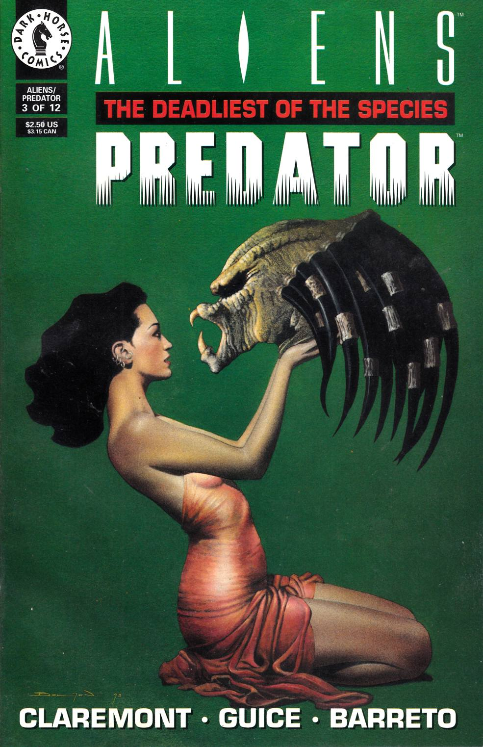 Aliens Predator the Deadliest of the Species #3 Very Fine (8.0) [Dark Horse Comic] THUMBNAIL
