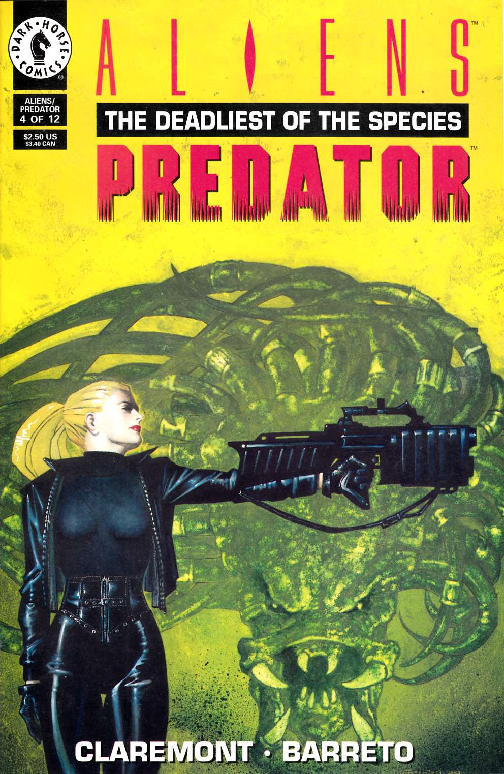 Aliens Predator the Deadliest of the Species #4 Fine (6.0) [Dark Horse Comic] THUMBNAIL
