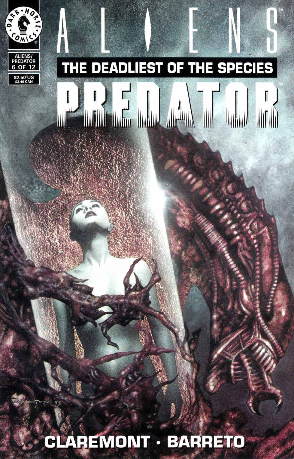 Aliens Predator the Deadliest of the Species #6 Fine (6.0) [Dark Horse Comic] THUMBNAIL