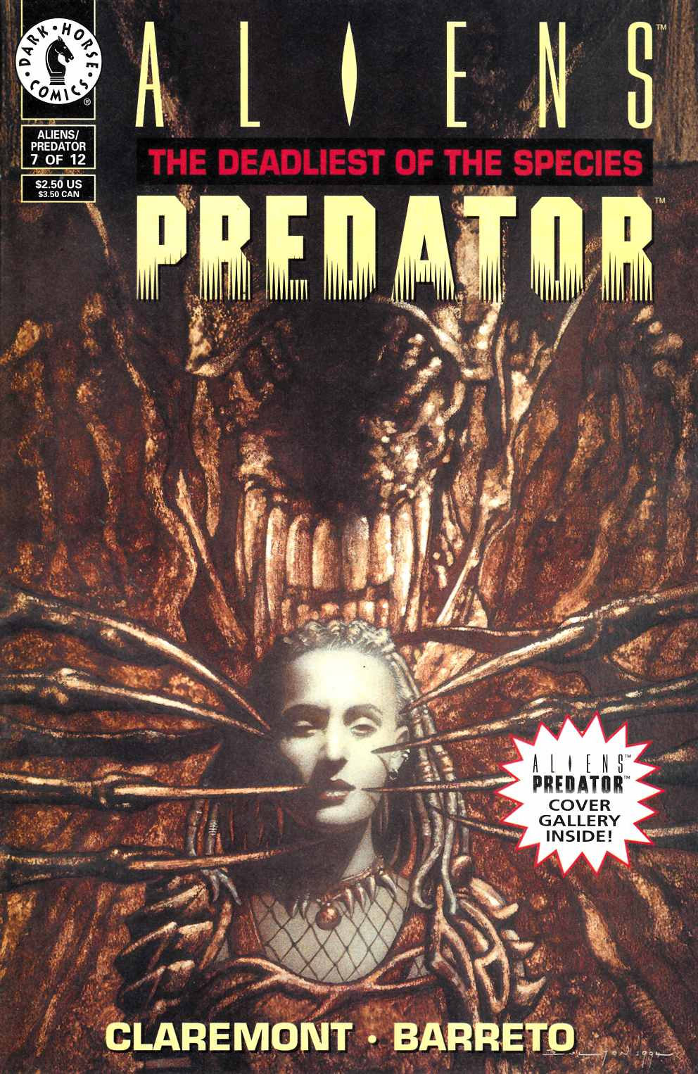 Aliens Predator the Deadliest of the Species #7 Fine (6.0) [Dark Horse Comic] THUMBNAIL
