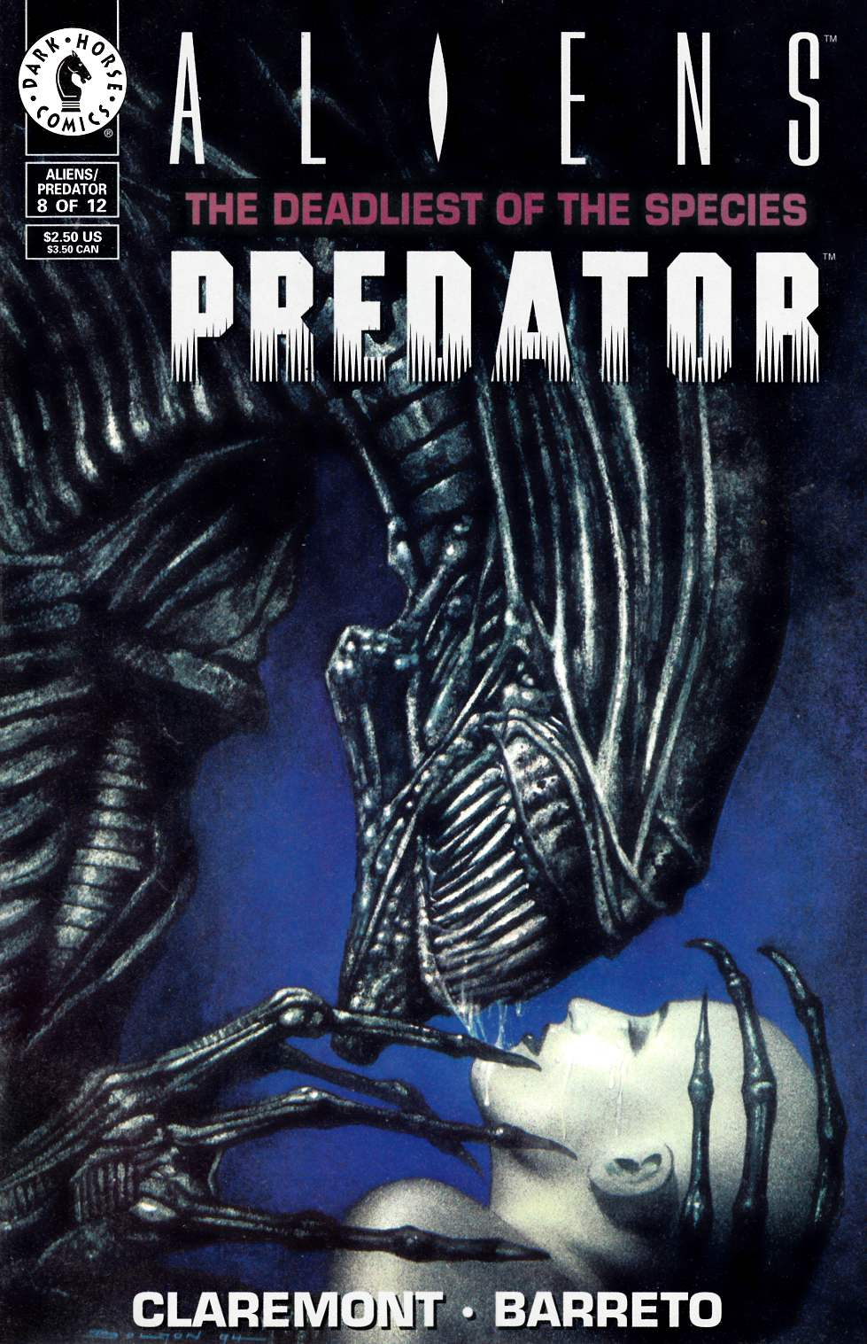 Aliens Predator the Deadliest of the Species #8 Very Fine (8.0) [Dark Horse Comic] THUMBNAIL