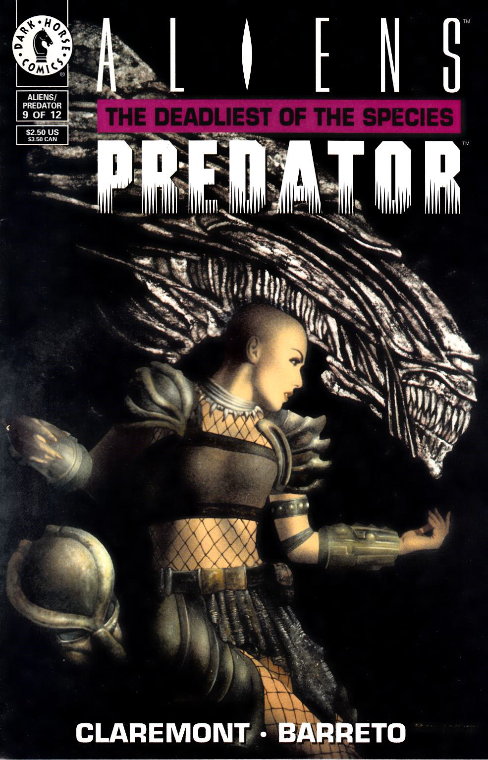 Aliens Predator the Deadliest of the Species #9 Fine Plus (6.5) [Dark Horse Comic] THUMBNAIL