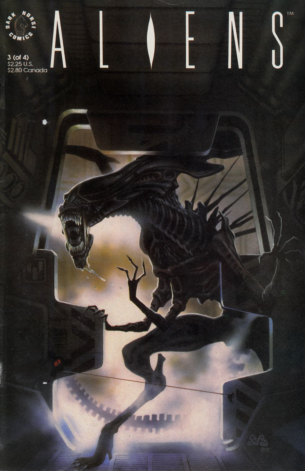Aliens #3 Fine (6.0) [Dark Horse Comic] THUMBNAIL