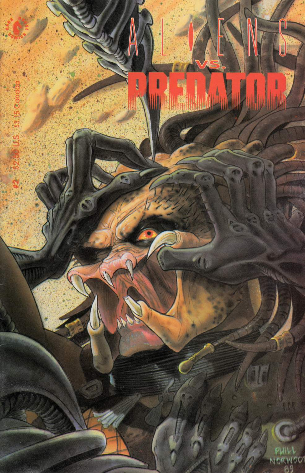 Aliens vs Predator #2 Fine (6.0) [Dark Horse Comic] THUMBNAIL