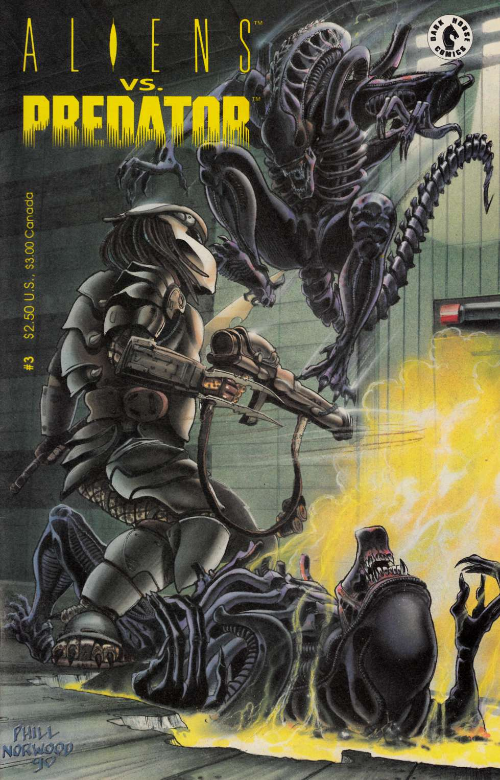 Aliens vs Predator #3 Very Fine (8.0) [Dark Horse Comic] THUMBNAIL
