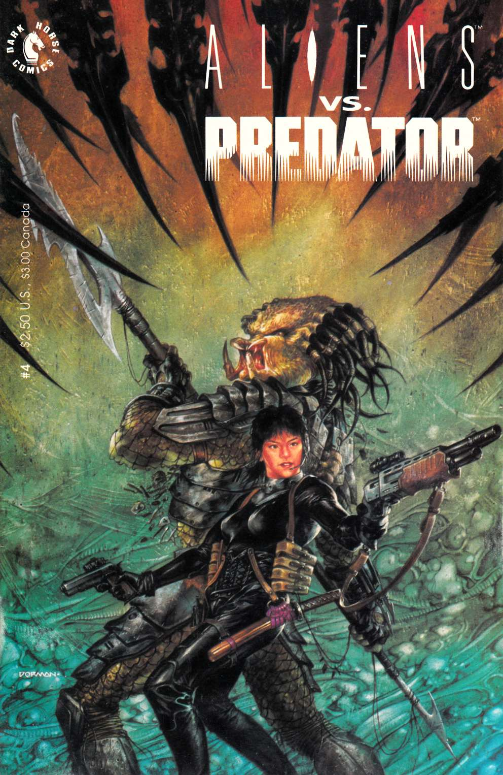 Aliens vs Predator #4 Very Fine (8.0) [Dark Horse Comic] THUMBNAIL