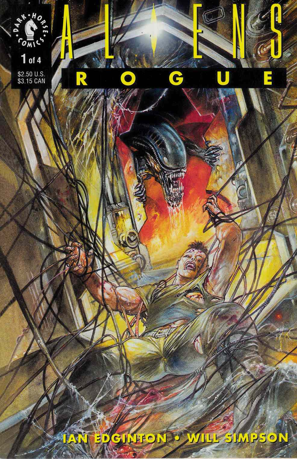 Aliens Rogue #1 Very Fine (8.0) [Dark Horse Comic] THUMBNAIL