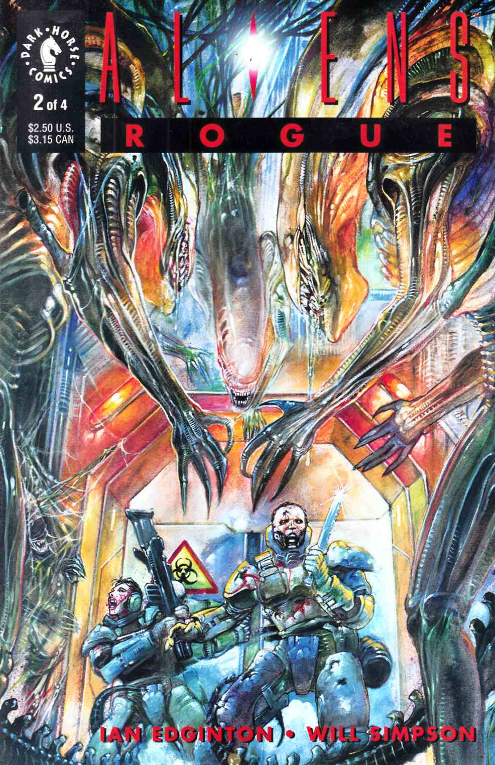 Aliens Rogue #2 Very Fine (8.0) [Dark Horse Comic] THUMBNAIL