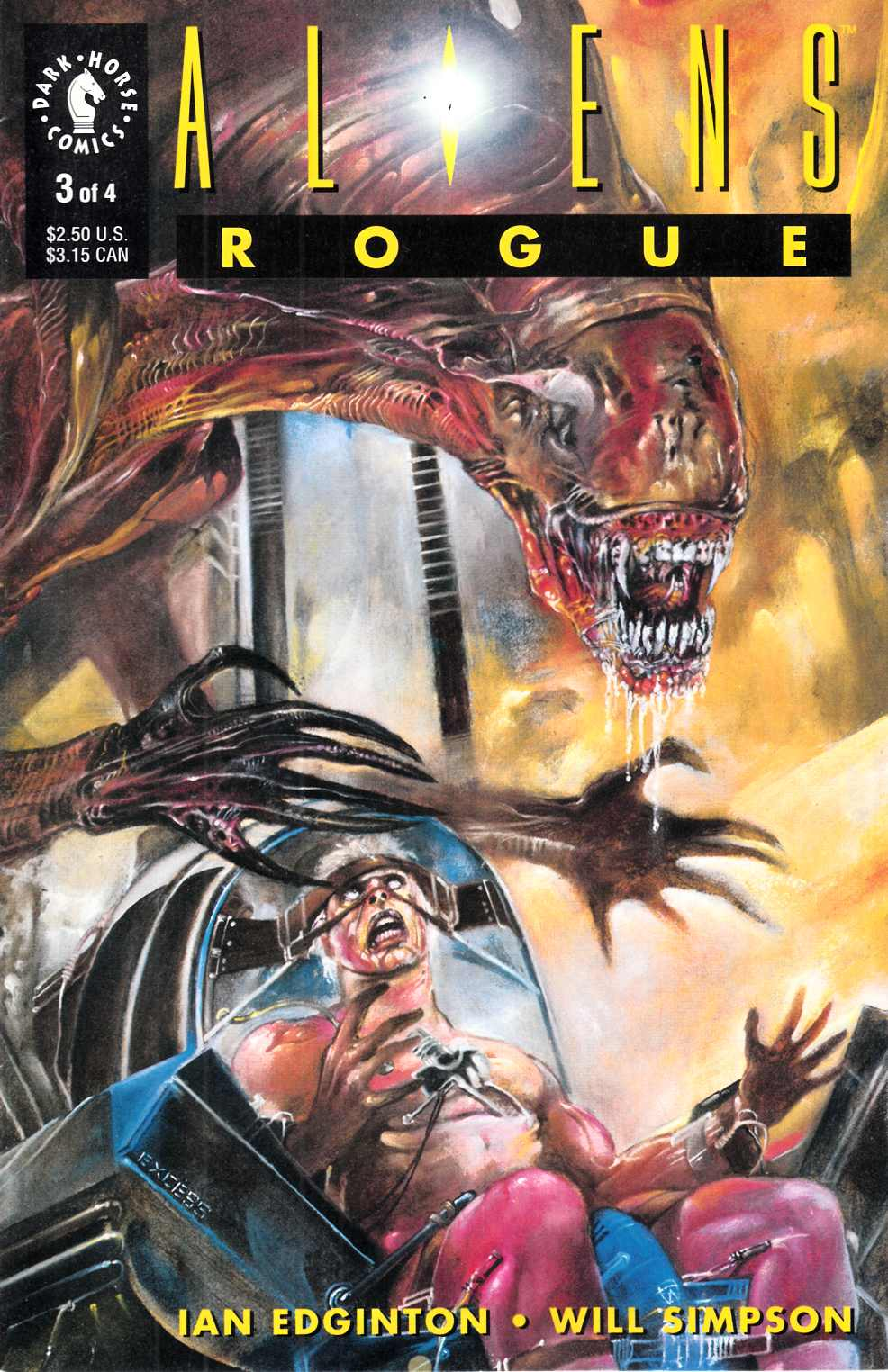 Aliens Rogue #3 Very Fine (8.0) [Dark Horse Comic] THUMBNAIL