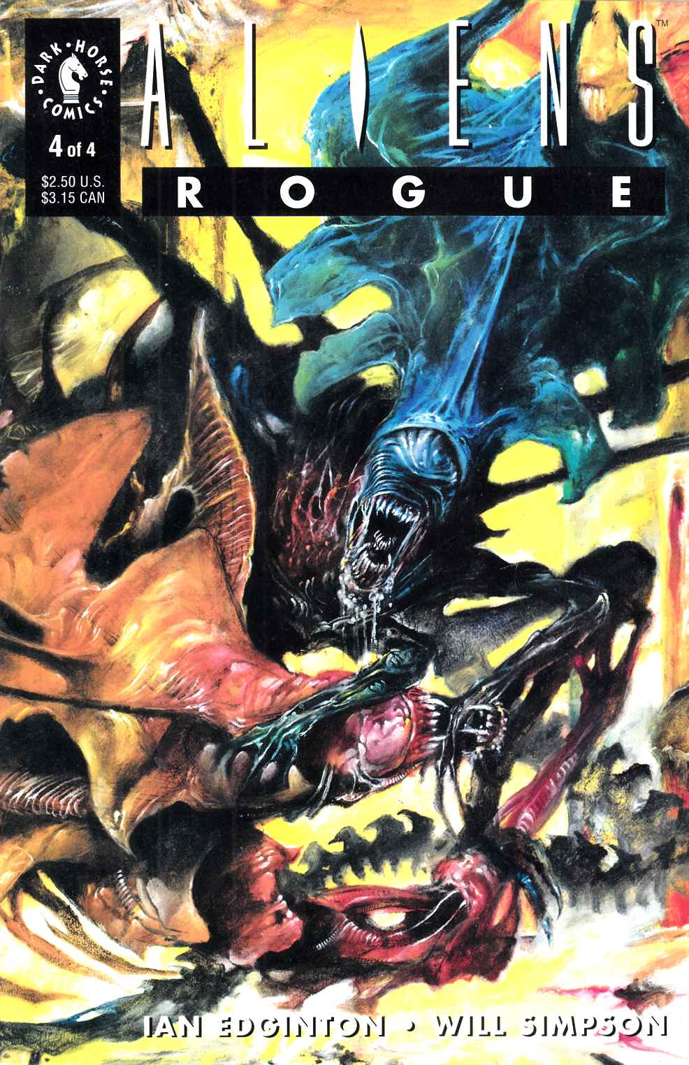Aliens Rogue #4 Very Fine (8.0) [Dark Horse Comic] THUMBNAIL