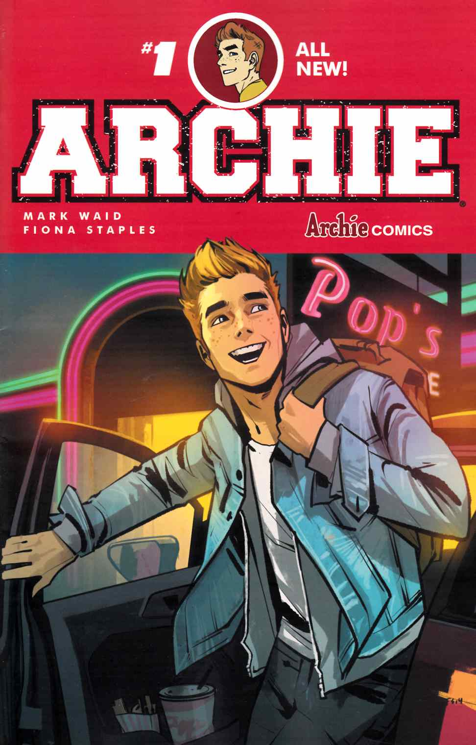 Archie #1 Cover A- Staples [Archie Comic] LARGE