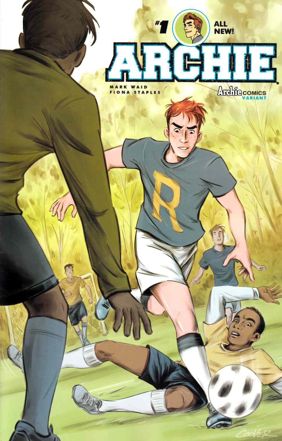 Archie #1 Cover C- Colleen Coover [Archie Comic]_THUMBNAIL