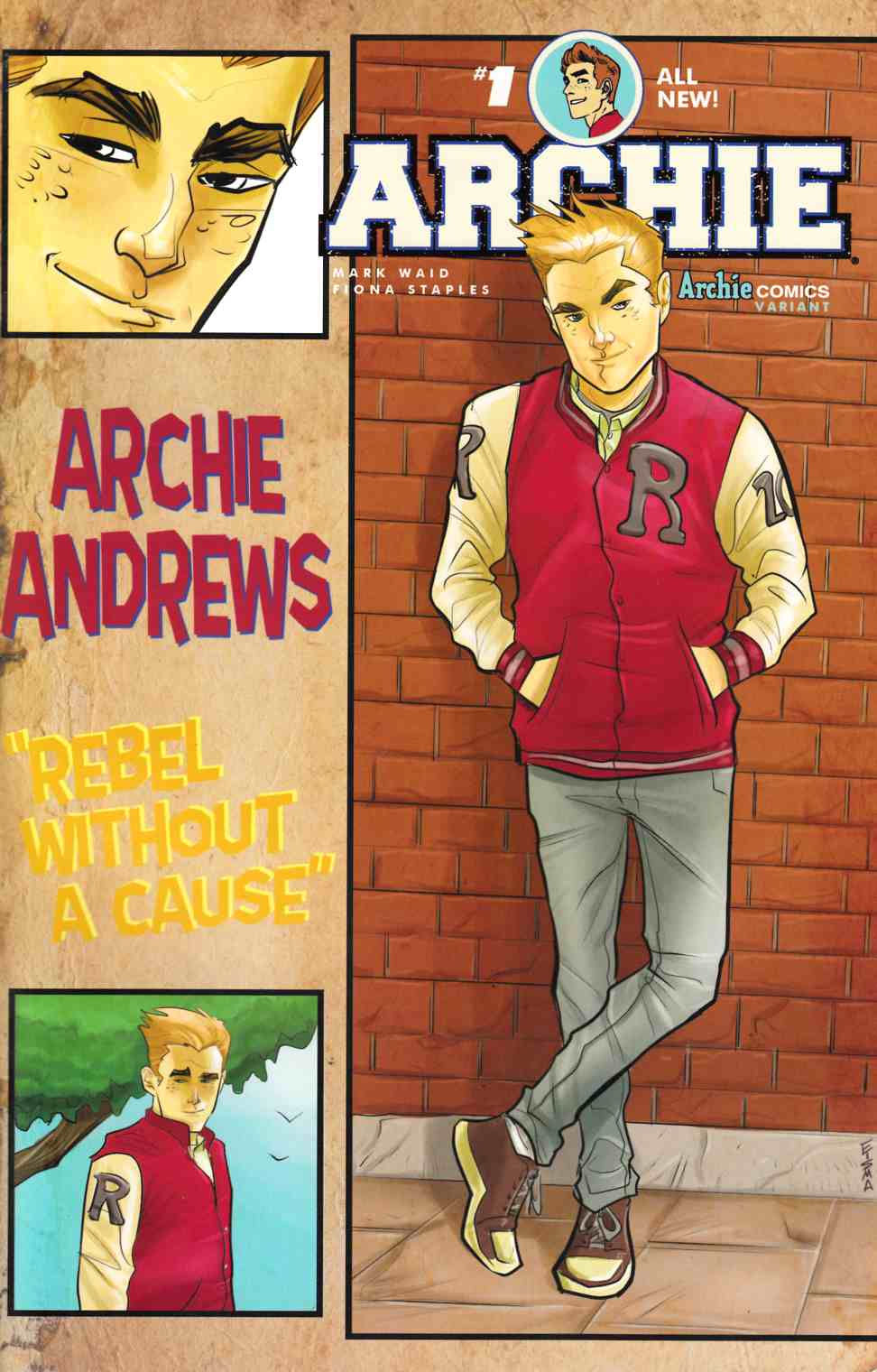 Archie #1 Cover E- Joe Eisma [Archie Comic] LARGE