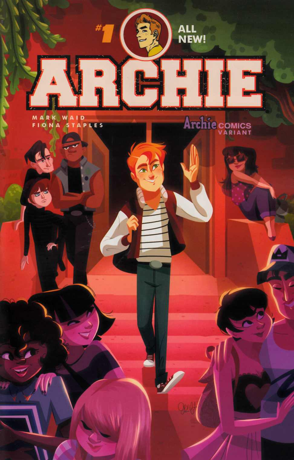 Archie #1 Cover G- Genevieve [Archie Comic]_THUMBNAIL