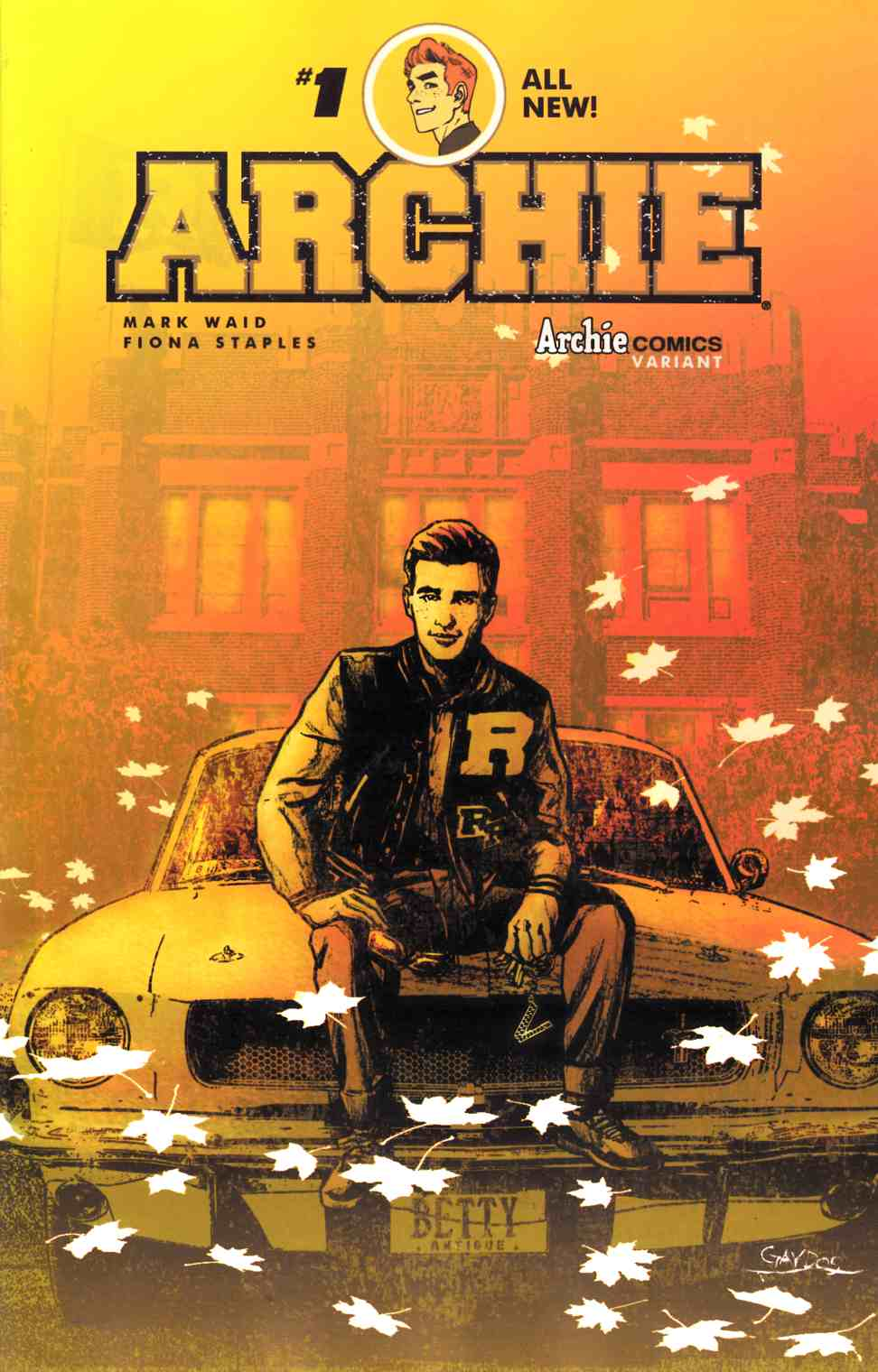 Archie #1 Cover H- Michael Gaydos [Archie Comic]_THUMBNAIL