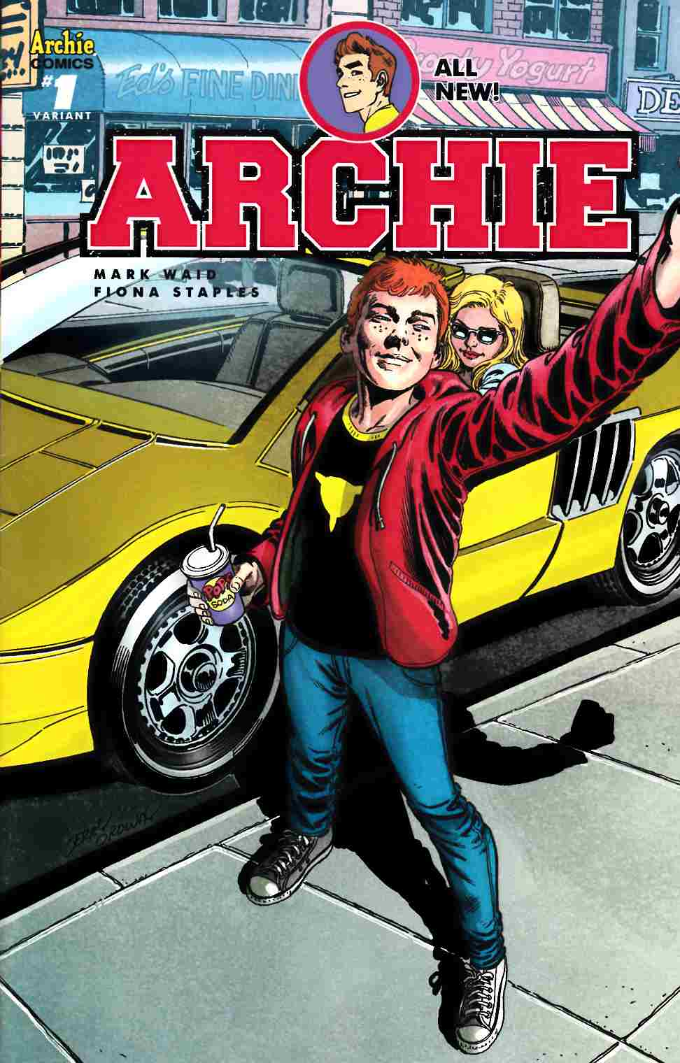 Archie #1 Cover O- Ordway [Archie Comic]_THUMBNAIL