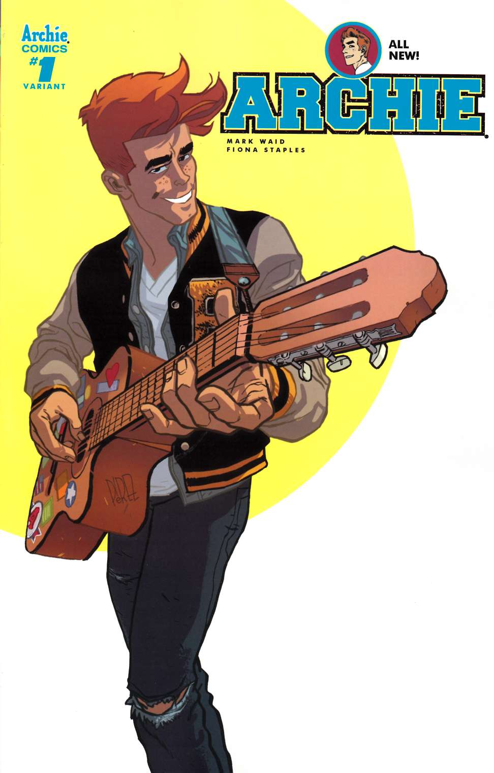 Archie #1 Cover P- Ramon Perez [Archie Comic] LARGE