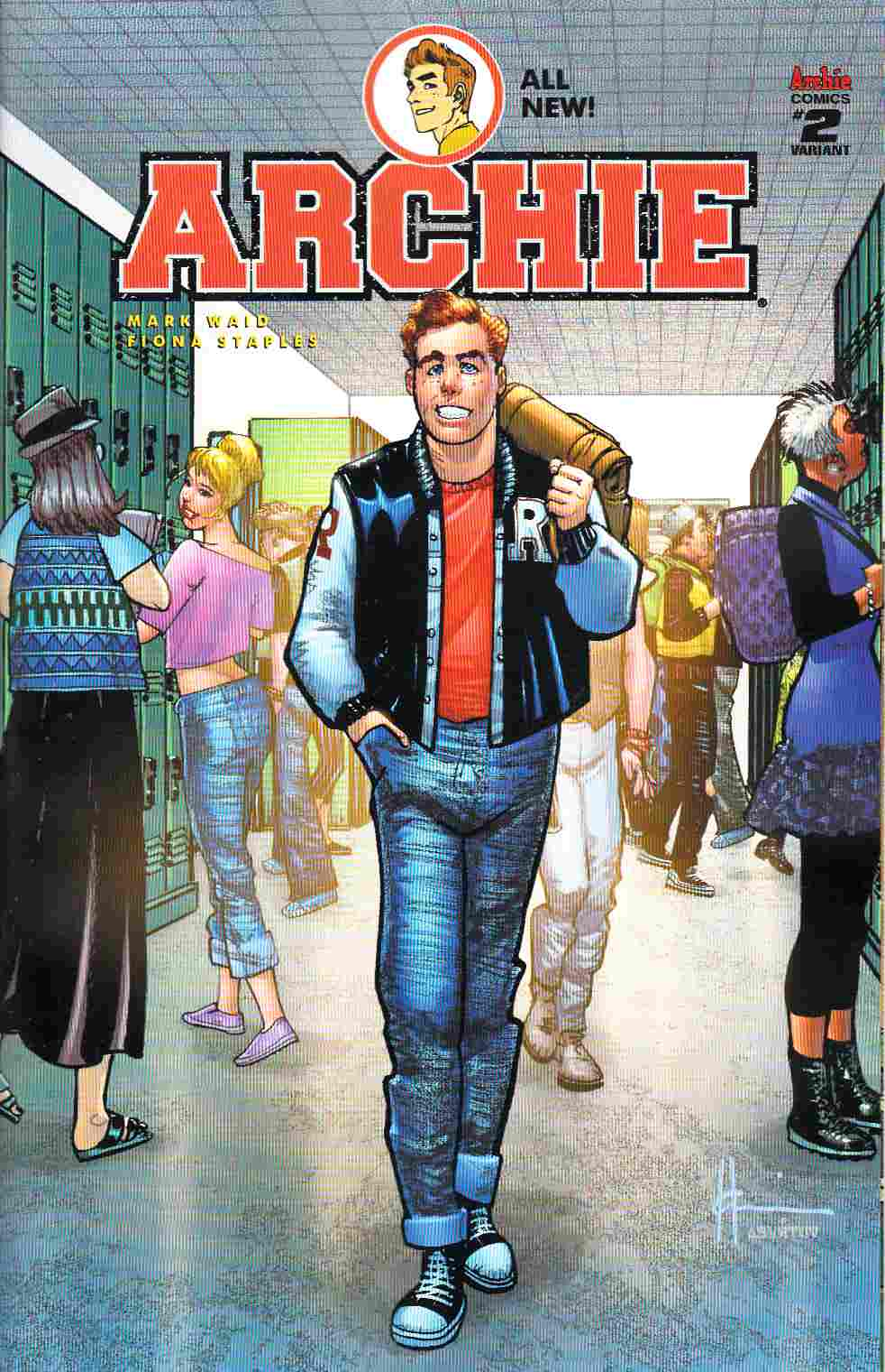 Archie #2 Cover B- Chaykin [Archie Comic] THUMBNAIL