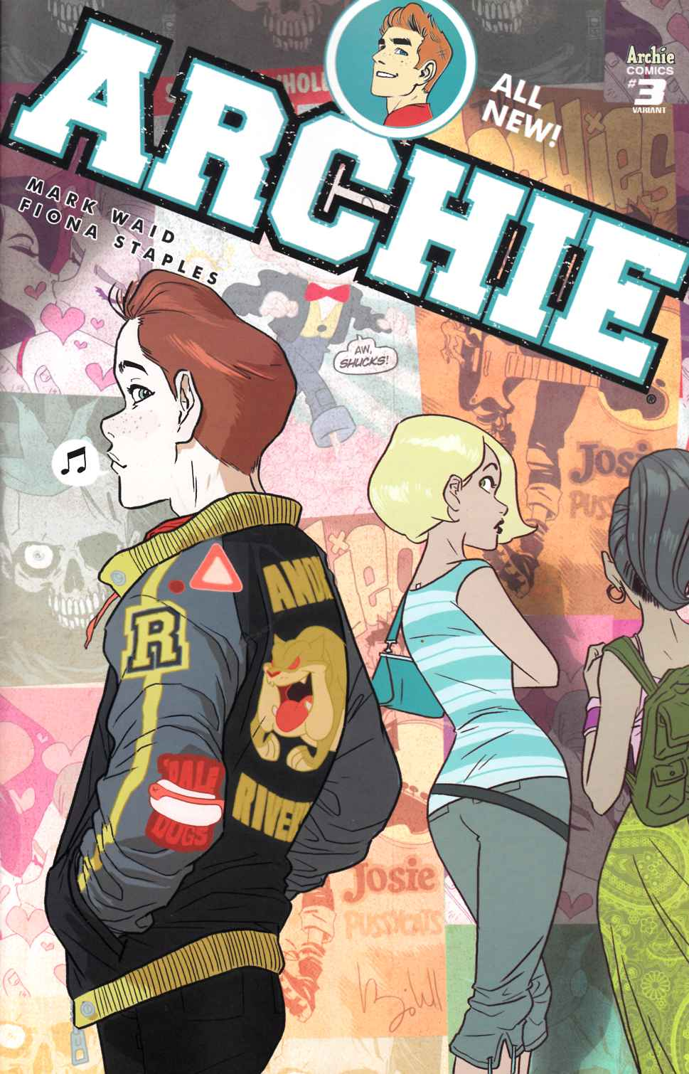 Archie #3 Cover B- Caldwell [Archie Comic] THUMBNAIL