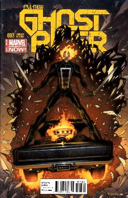All New Ghost Rider #3 Vehicle Texeira Variant Cover Near Mint (9.4) [Marvel Comic] LARGE