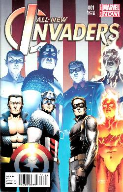 All New Invaders #1 Cassaday Variant Cover [Comic] LARGE