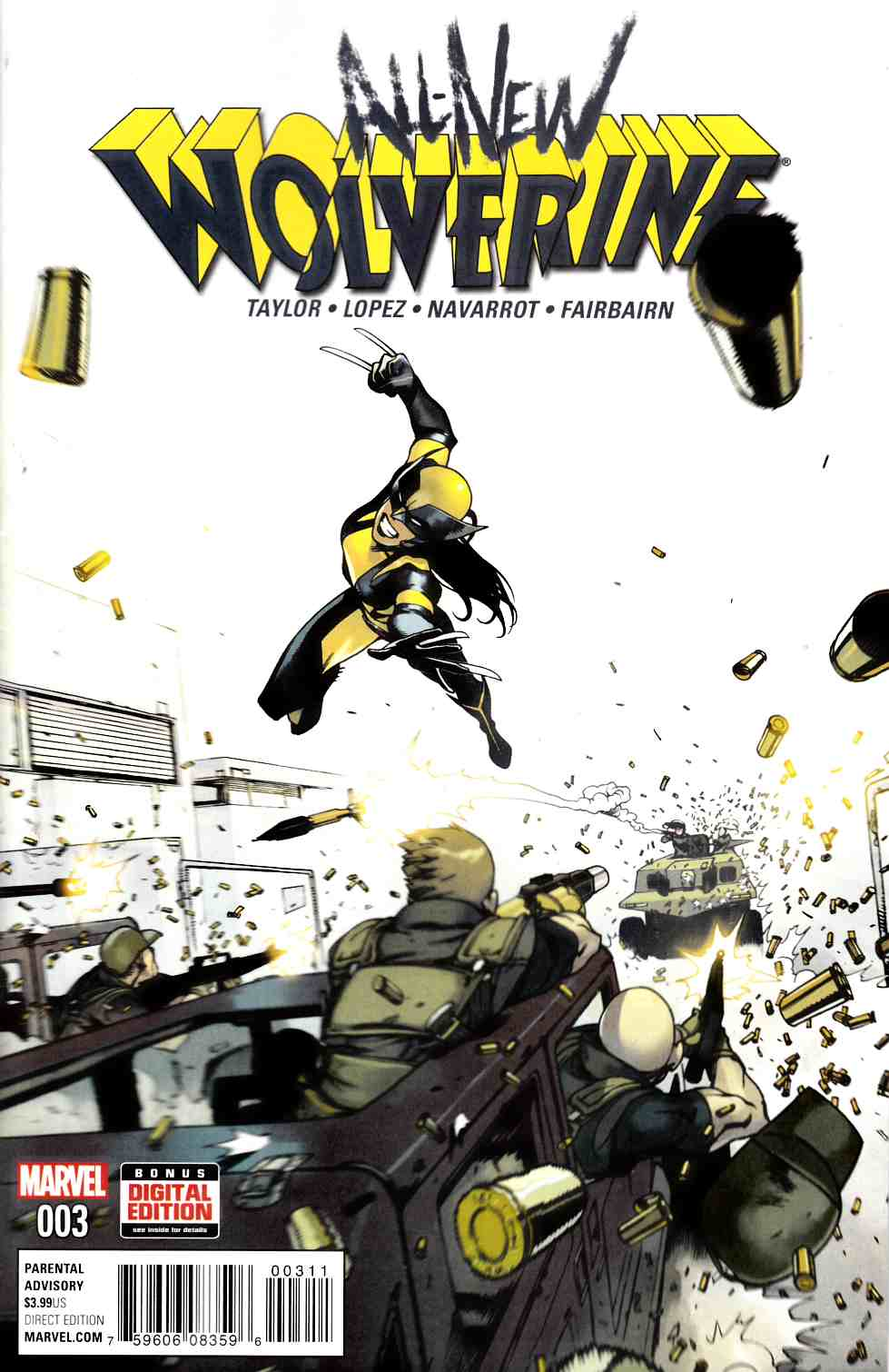 All New Wolverine #3 Near Mint (9.4) [Marvel Comic] THUMBNAIL