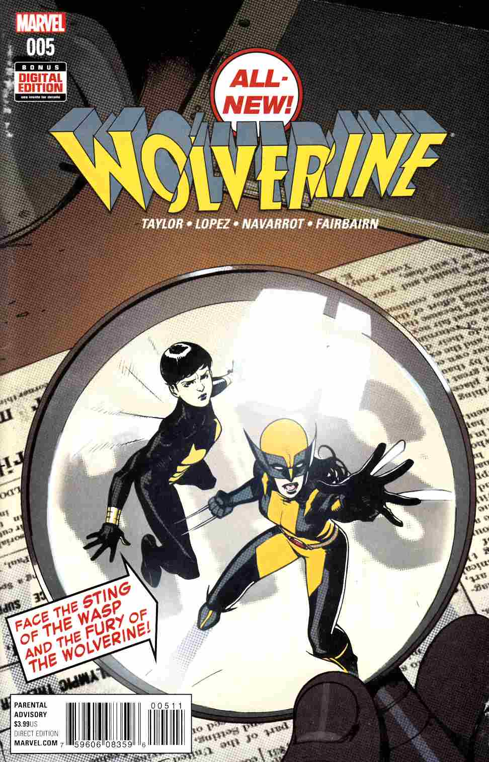 All New Wolverine #5 Near Mint (9.4) [Marvel Comic] THUMBNAIL