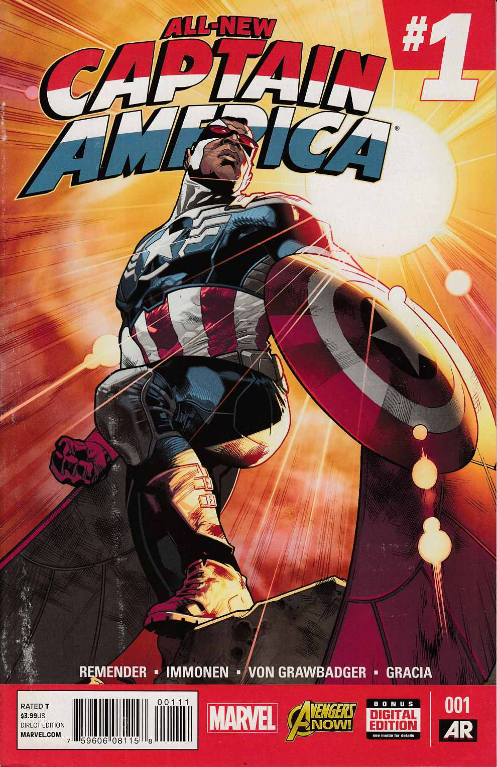 All New Captain America #1 Very Fine (8.0) [Marvel Comic]_THUMBNAIL