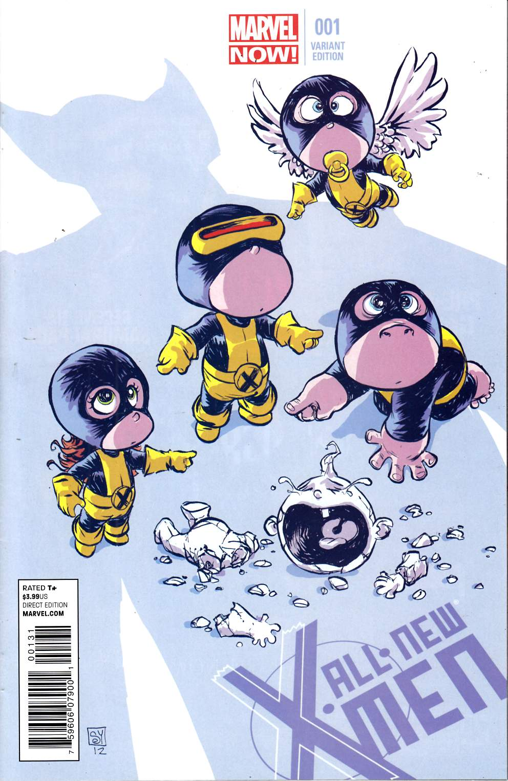 All New X-Men #1 Young Baby Cover Near Mint (9.4) [Marvel Comic] THUMBNAIL