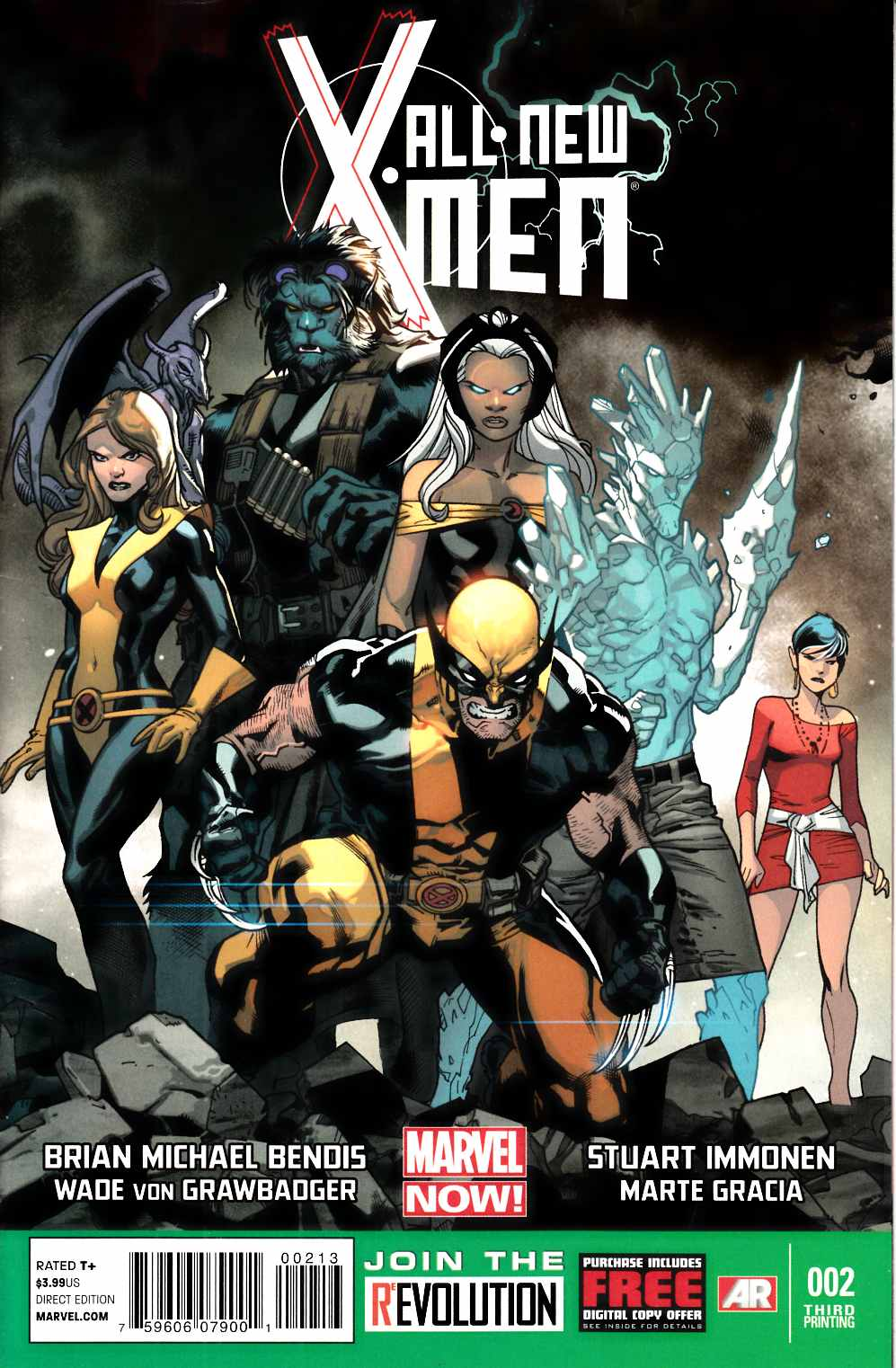 All New X-Men #2 Third Printing Near Mint (9.4) [Marvel Comic] THUMBNAIL