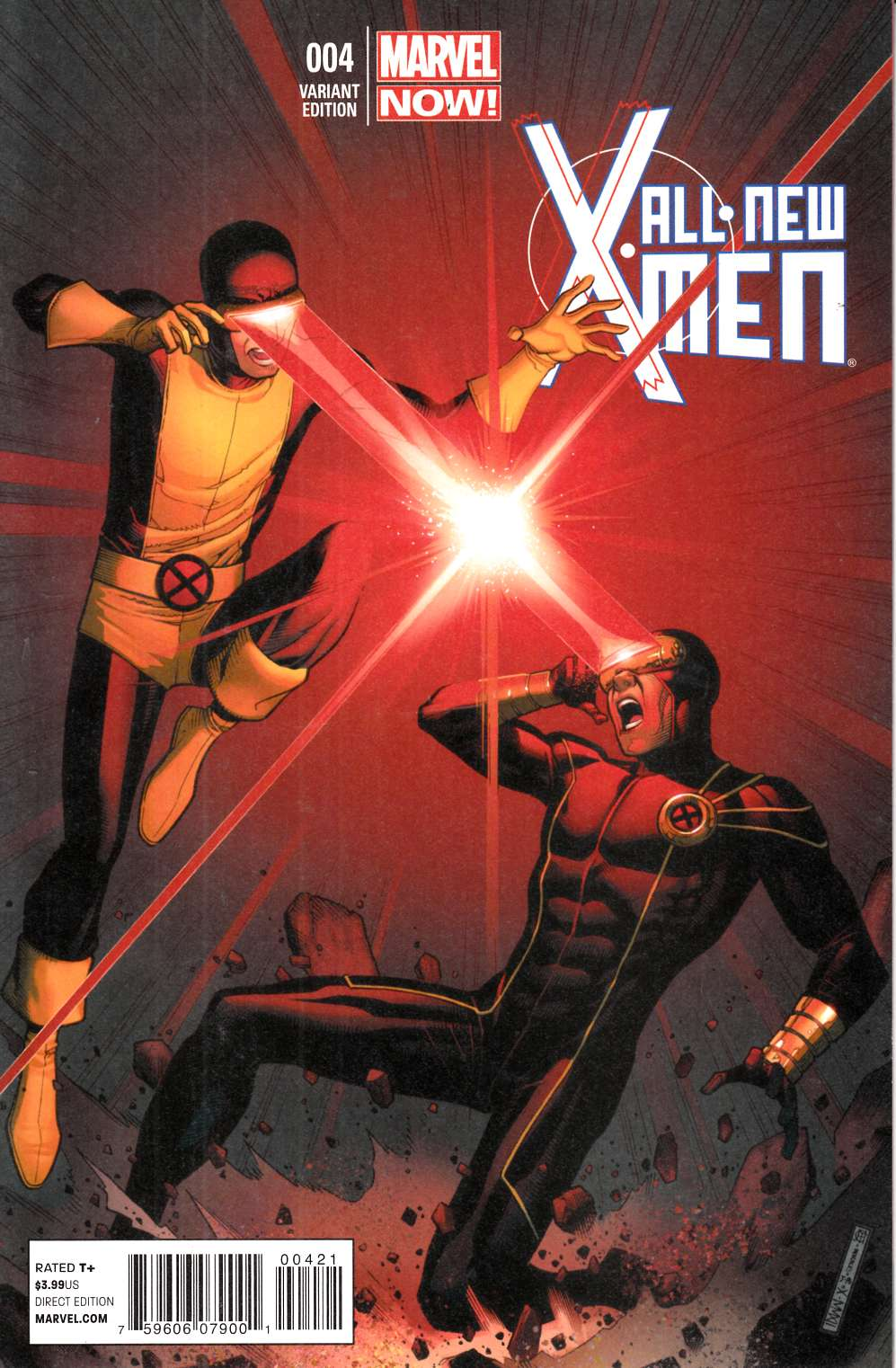 All New X-Men #4 Cheung Variant Cover Near Mint (9.4) [Marvel Comic] THUMBNAIL
