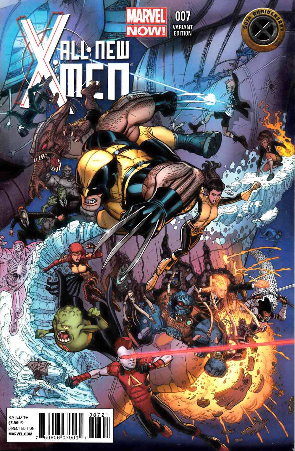 All New X-Men #7 50th Anniversary Cover Very Fine (8.0) [Marvel Comic] THUMBNAIL