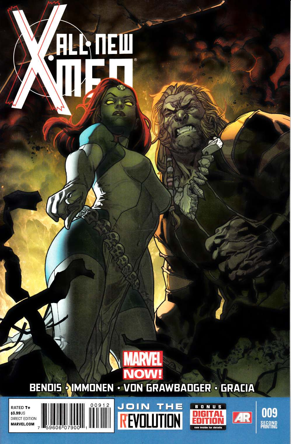 All New X-Men #9 Second Printing Very Fine (8.0) [Marvel Comic] THUMBNAIL