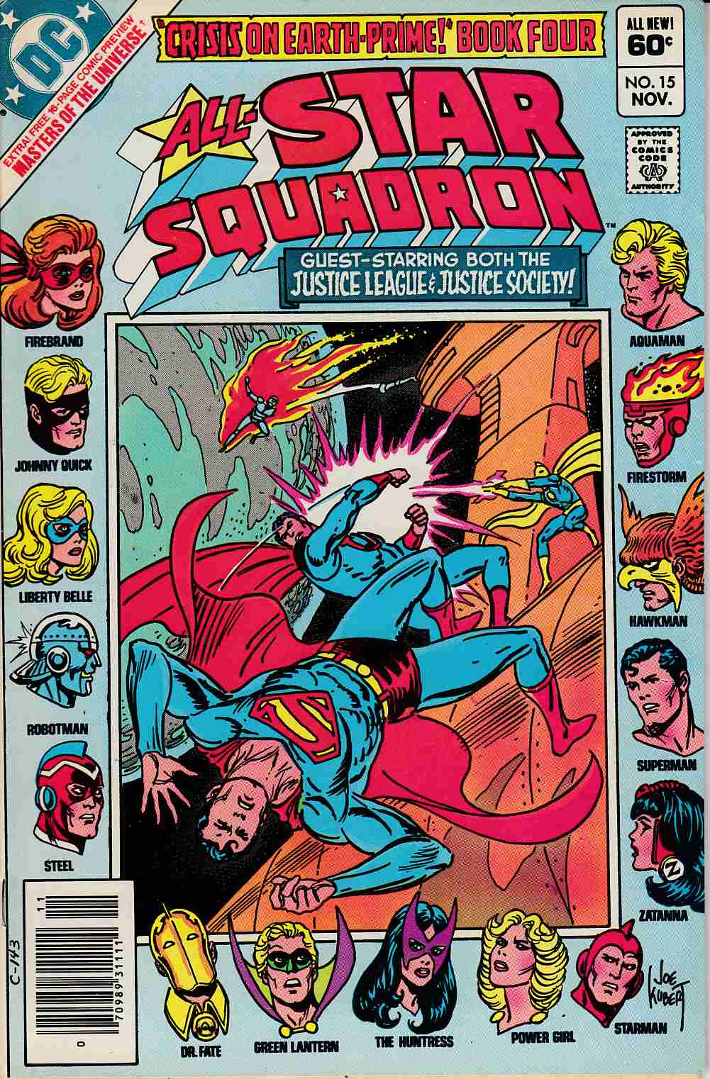 All Star Squadron #15 Very Fine (8.0) [DC Comic] THUMBNAIL
