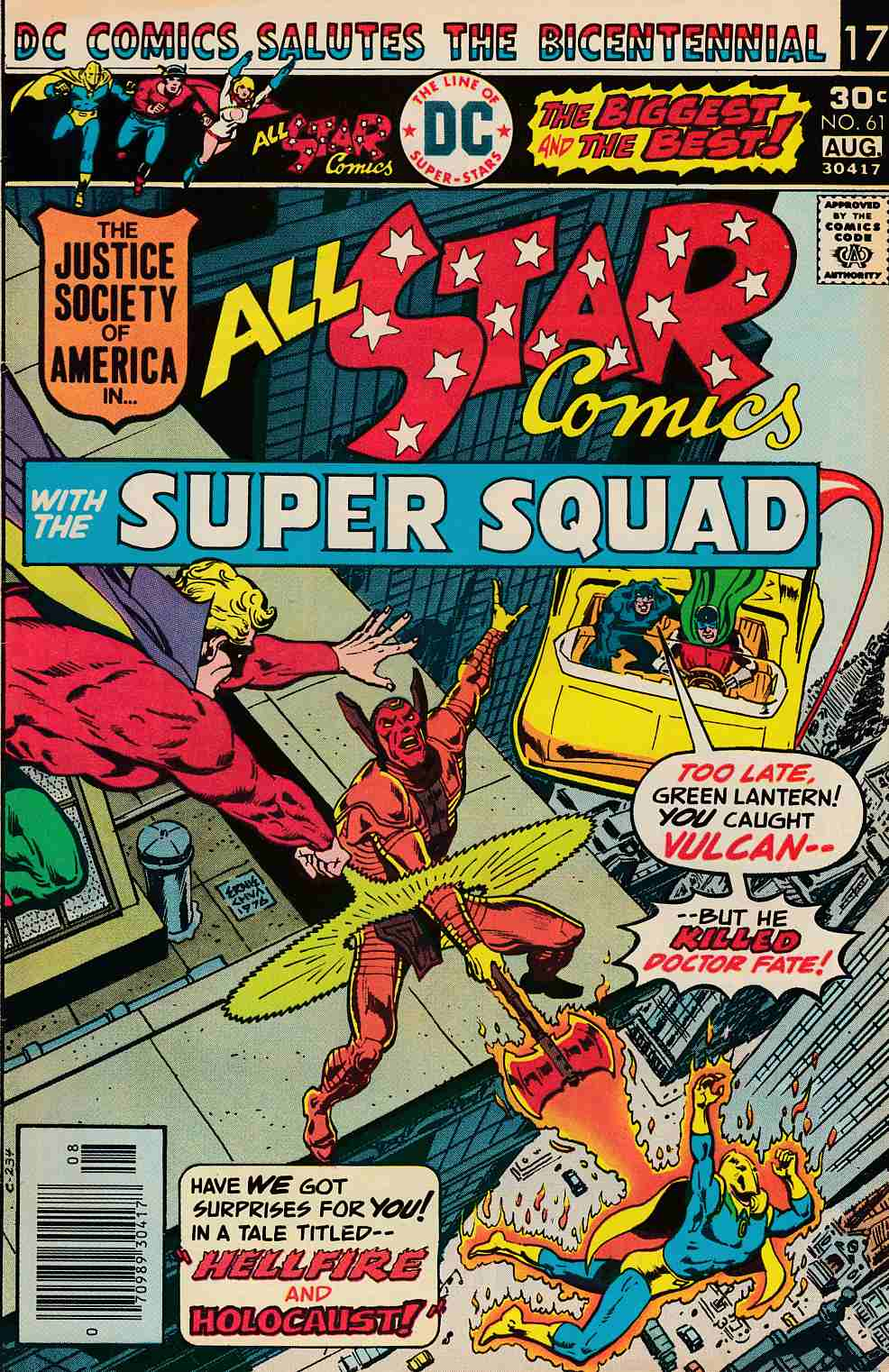 All Star Comics #61 Near Mint Minus (9.2) [DC Comic] THUMBNAIL
