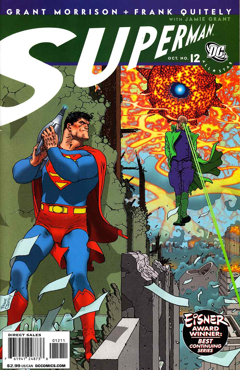 All Star Superman #12 Very Fine (8.0) [DC Comic] THUMBNAIL